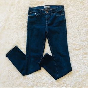 Madewell Alley Straight Mid Rise Jeans